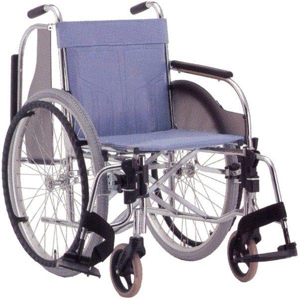 スチール自走用車いす CM-250 スイングタイプ hkz 介護用品