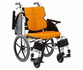 ネクストコア 介助用車いす NEXT-41B 跳ね上げ・スイングアウト 車椅子 介護用品 hkz