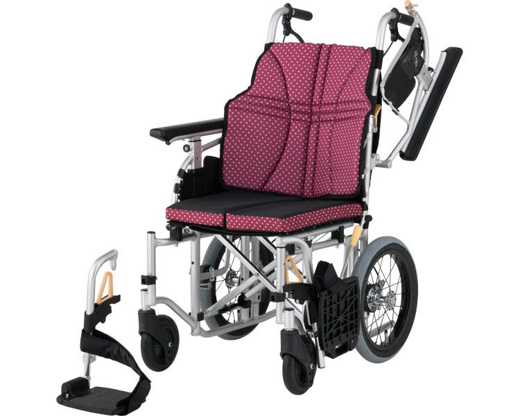 アルミ介助車いす ウルトラシリーズ フルモジュールタイプ NAH-U7 日進医療器 介助式車椅子 hkz