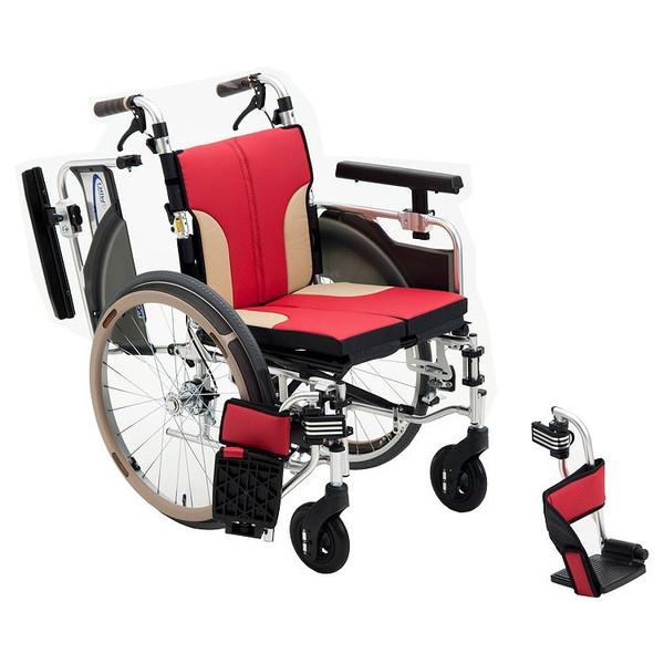 介護用品 アルミ自走車いす SKT-1000 hkz