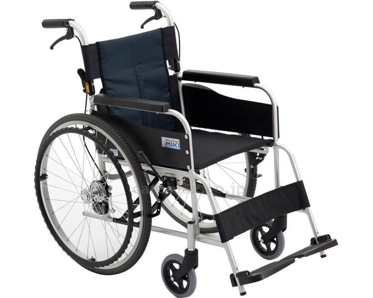 自走型スタンダード車いす 座幅40cm ミキ 車椅子 介護用品 hkz