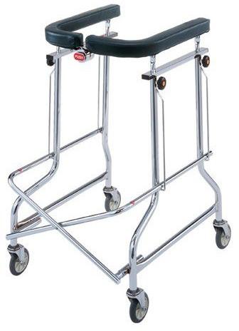 折りたたみ歩行器 介護 折りたたみ式 アルコー 1-T型 抵抗器付き リハビリ 歩行補助 高齢者用 hkz