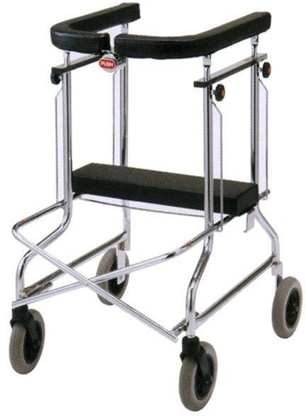 歩行器 介護用品 折りたたみ式 アルコーSH型 ブレーキなし 星光医療器製作所 hkz リハビリ 高齢者用