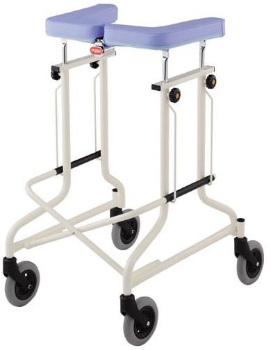 歩行器 介護用品 アルコーCL型A 4輪自在 星光医療器製作所 hkz リハビリ 高齢者用