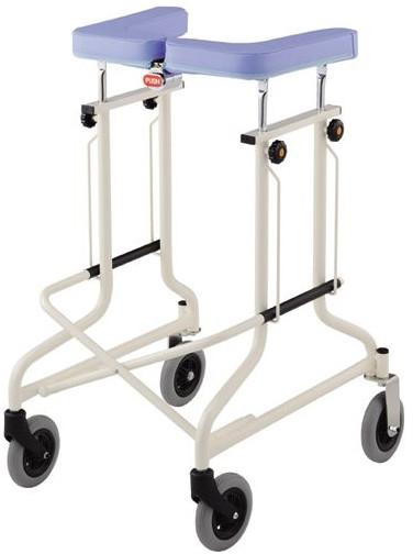 介護用歩行器 アルコーCL型B 後輪固定 星光医療器製作所 hkz リハビリ 高齢者用