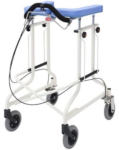 折りたたみ歩行器 アルコーCL型C 後輪固定・ブレーキ付 星光医療器製作所 hkz リハビリ 介護用品