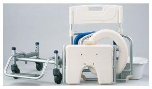 シャワーキャリー すま~いる シャワーベンチ キャリータイプ フルセット FRCF 介護用品