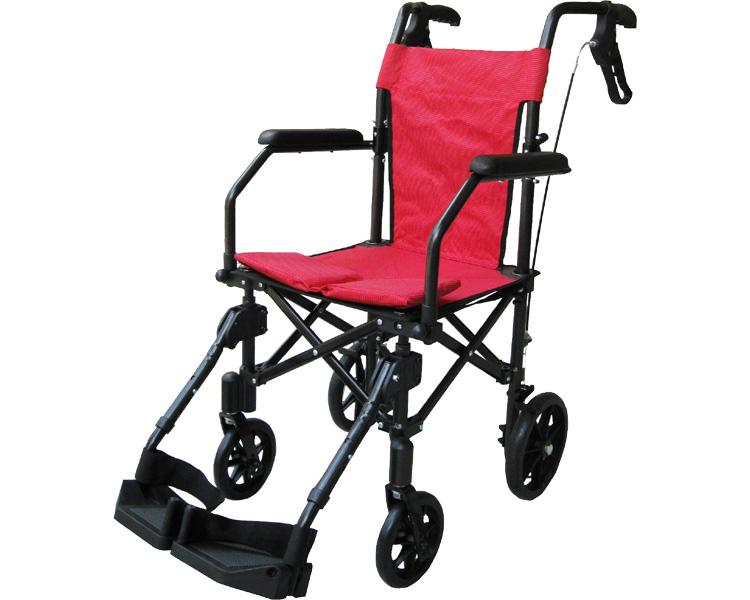 携帯折り畳み軽量介助車いす ハンディライトプラス HLP09020 介助式 車椅子 介護用品 hkz