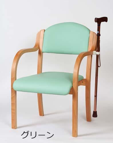 介護施設用いす エコノチェア EX 除菌コーティング 施設向け 福祉施設 木製肘付きチェア 介護用品