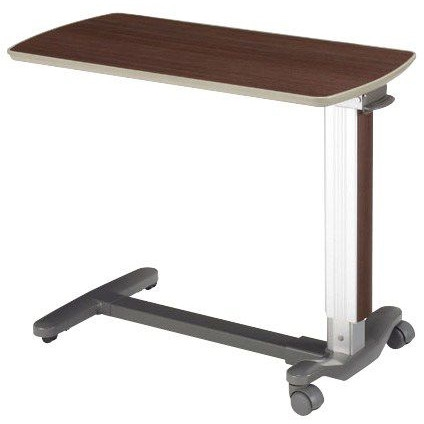 ベッドサイドテーブル ガススプリング式 KF-1970 ウォールナット パラマウントベッド 介護用