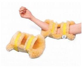 ナーシングラッグ ひじあて 2個1組 シープスキン 床ずれ予防 蓐瘡予防 介護用品