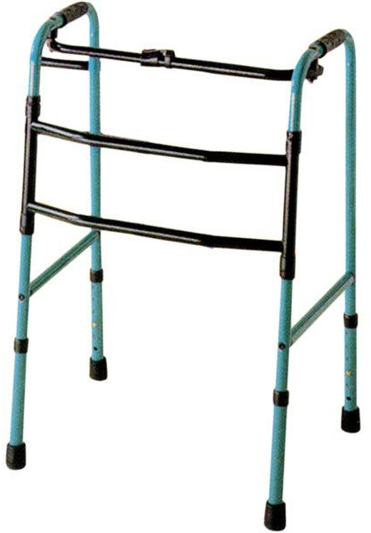 歩行器 介護 折りたたみ式交互歩行器 C2023 アクションジャパン リハビリ 歩行補助 高齢者用 hkz