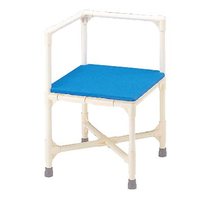 シャワーチェア 介護用品 風呂椅子 シャワーいす L型 マット固定タイプ CAA-7 矢崎化工