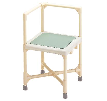 シャワーチェア 介護用品 風呂椅子 シャワーいす L型 大 CAA-0101 矢崎化工