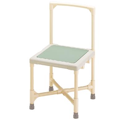 シャワーチェア 介護用品 風呂椅子 シャワーいす 背もたれ型 大 CAA-0301 矢崎化工