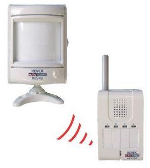 モーションセンサー&携帯受信チャイム REV140 リーベックス