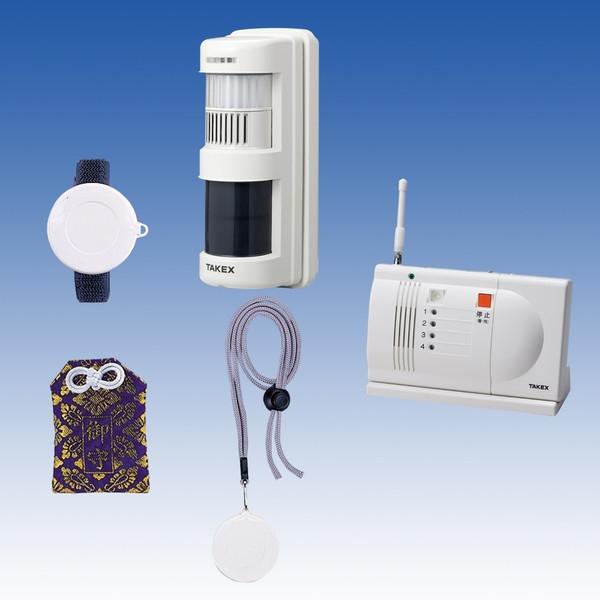 徘徊お知らせけいたいくん 卓上型受信機セット 離床・徘徊センサー 簡単設置・置き場所自由 ACW-S(T)