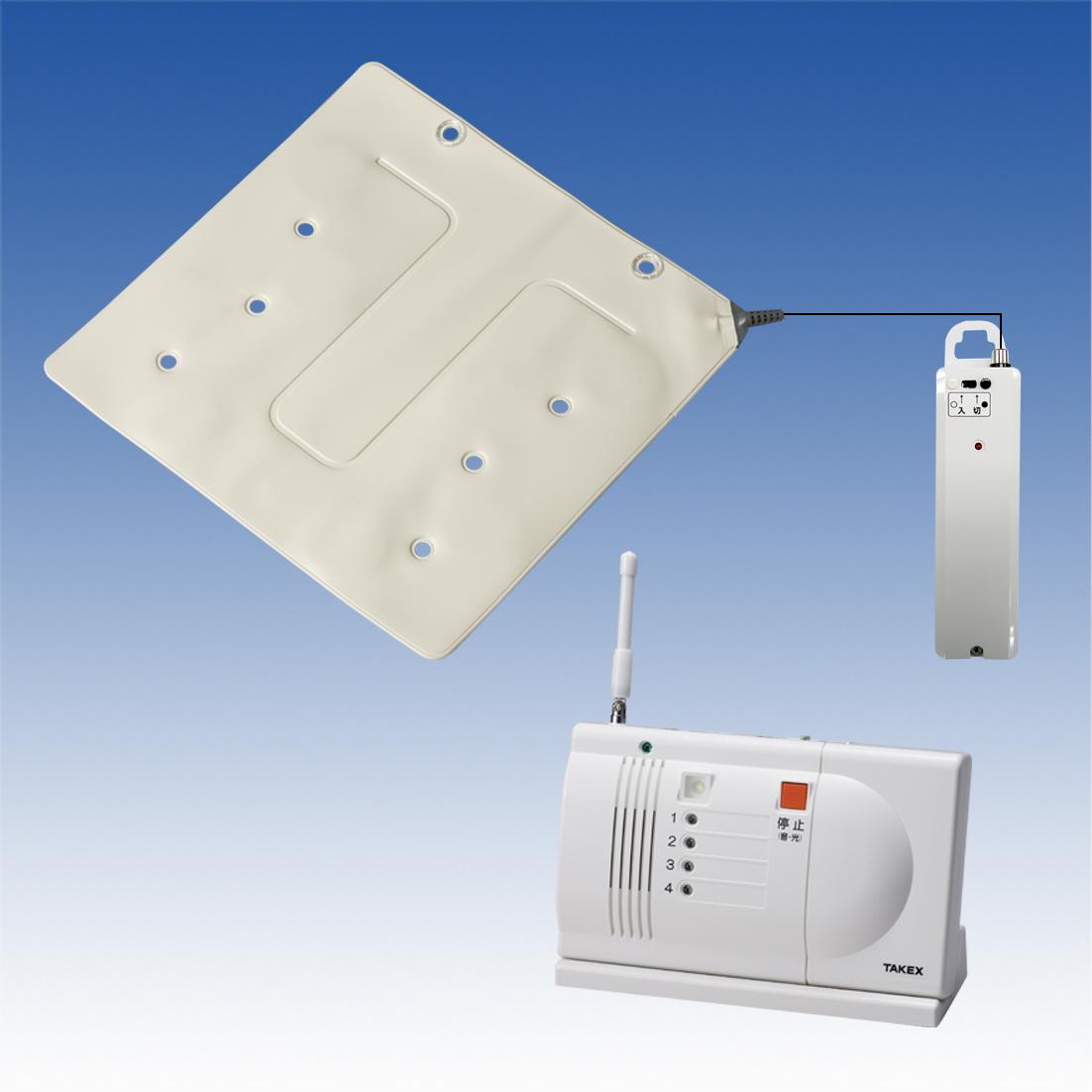 徘徊お知らせたつおくん(卓上型セット) HS-WK(T) 離床・徘徊センサー 簡単設置・置き場所自由