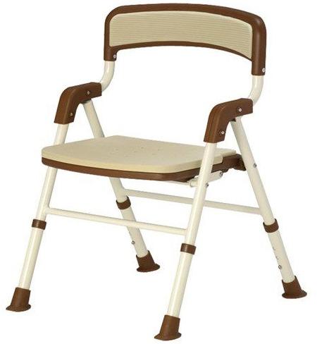 シャワーチェア 折りたたみ 介護用品 風呂椅子 シャワーバスターII 折りたたみタイプ 113820