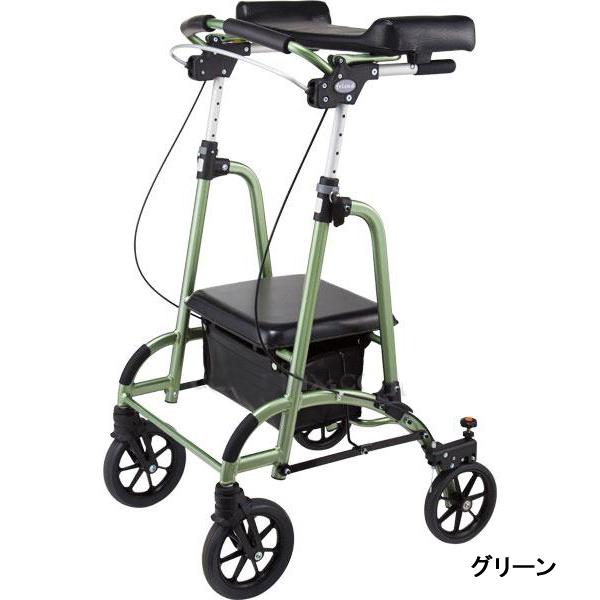 前腕支持台型歩行車 friendII(フレンド2) WF-2 歩行器 介護用 リハビリ 歩行補助 hkz