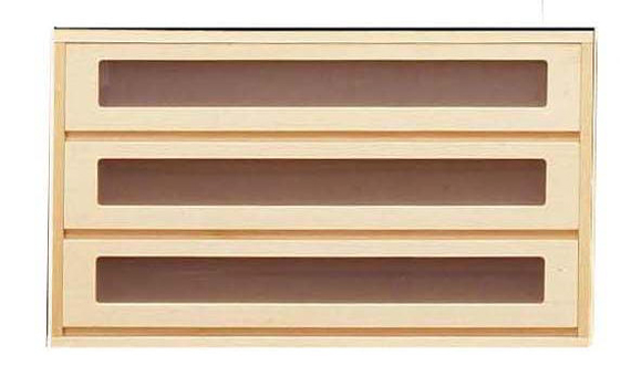 【送料無料】【国産品】桐クローゼット収納家具100幅♪窓付きチェスト