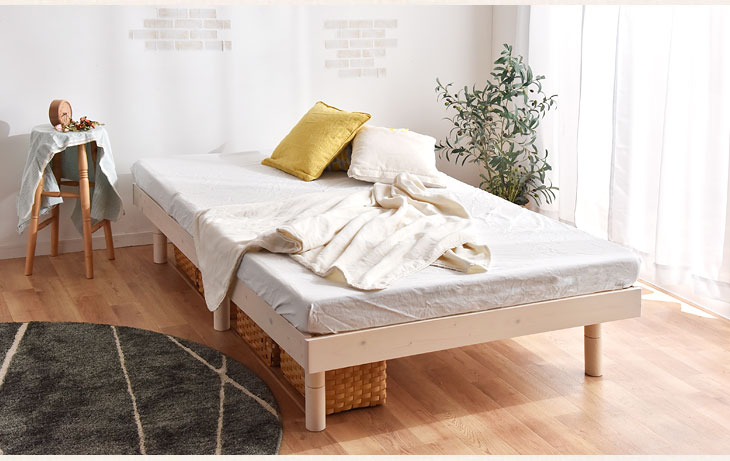 Gambaru Kaguya Tansu no Gen: Slatted bed base bed 3-stage height ...