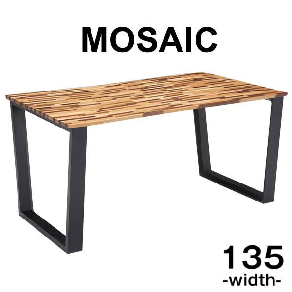 【送料無料】 ダイニングテーブル 単品 長方形 135×80 天然木 テーブルのみ 高さ70cm 4人掛け テーブル ダイニング ダイニングテーブル 木脚 脚 四人掛け 135 135cm