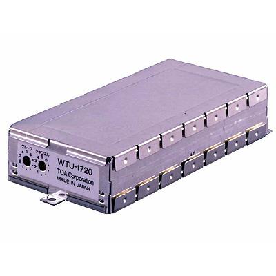 TOA シングル用800MHzワイヤレスチューナーユニット WTU-1720