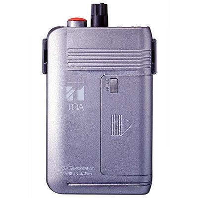 TOA 簡易同時通訳・工場案内用携帯型受信機(2チャンネル型) WT-1101-C12C14