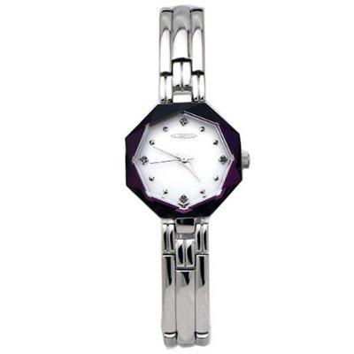 AUREOLE/オレオール AUREOLE (オレオール) 腕時計 17面カットクリスタル SW-468L-4 SW-468L-4