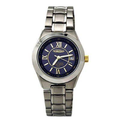 AUREOLE/オレオール AUREOLE (オレオール) 腕時計 光エネルギー SW-474M-1 SW-474M-1