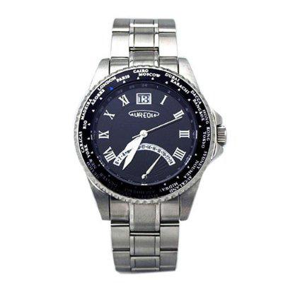 AUREOLE/オレオール AUREOLE (オレオール) 腕時計 ワールドタイムウォッチ SW-480M-1 SW-480M-1