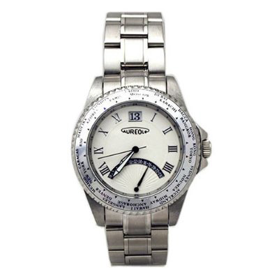 AUREOLE/オレオール AUREOLE (オレオール) 腕時計 ワールドタイムウォッチ SW-480M-3 SW-480M-3