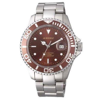 AUREOLE/オレオール AUREOLE (オレオール) 腕時計 10年電池 20気圧防水 SW-416M-7 SW-416M-7
