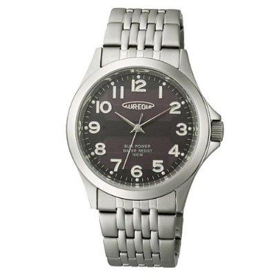 AUREOLE/オレオール AUREOLE (オレオール) 腕時計 光エネルギー電池 SW-482M-1 SW-482M-1