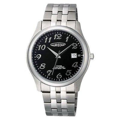 AUREOLE/オレオール AUREOLE (オレオール) 腕時計 10年電池 10気圧防水 SW-483M-1 SW-483M-1