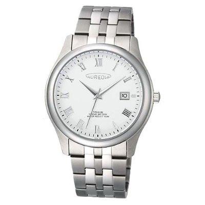 AUREOLE/オレオール AUREOLE (オレオール) 腕時計 10年電池 10気圧防水 SW-483M-6 SW-483M-6