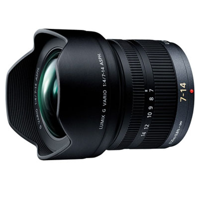 パナソニック 広角ズームレンズ 7-14mm/F4.0 ASPH./MEGA O.I.S「LUMIX G VARIO」 H-F007014