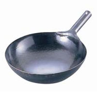 TKG (Total Kitchen Goods) 山田 鉄 打出片手中華鍋(板厚1.2) ATY9145