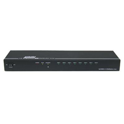 ランサーリンク HDMI v1.4aで公表された3D規格に対応した1入力8出力のHDMI分配器 HD-18V3D【納期目安:2週間】