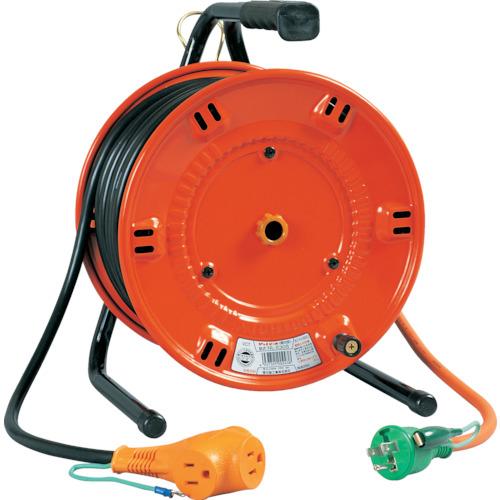 日動工業 日動 電工ドラム びっくリール 100V アース付 20m NL-E20S