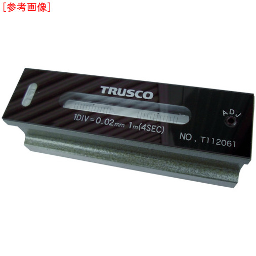トラスコ中山 TRUSCO 平形精密水準器 B級 寸法300 感度0.05 TFL-B3005