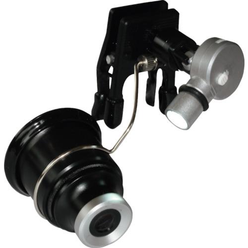 京葉光器 リーフ クリップライト付アイルーペ CPE-200LED