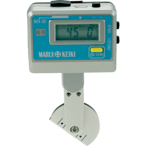 マルイテクノ 丸井 デジタル角度計 ハイトゲージベベル HG-36