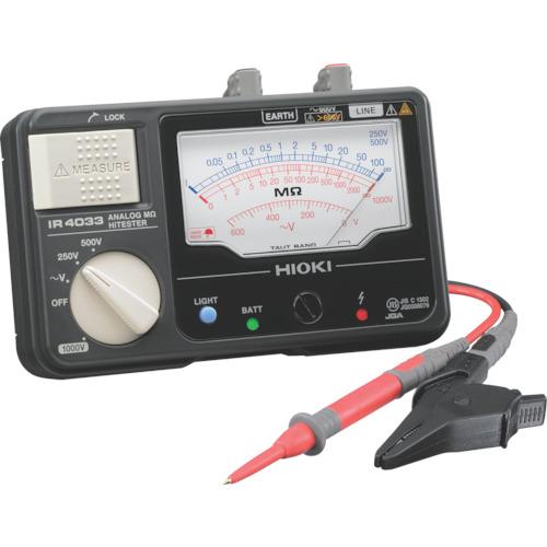日置電機 HIOKI メグオームハイテスタ IR4033-10