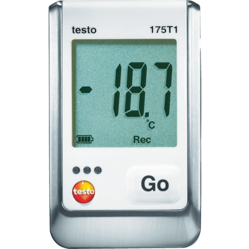 テストー テストー 温度データロガ内蔵1チャンネル TESTO175-T1