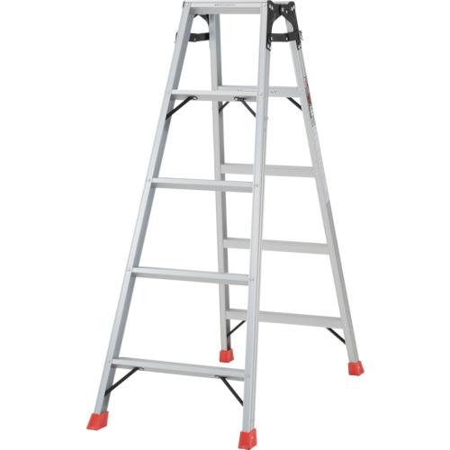 トラスコ中山 TRUSCO はしご兼用脚立 アルミ合金製・脚カバー付 高さ1.40m THK-150
