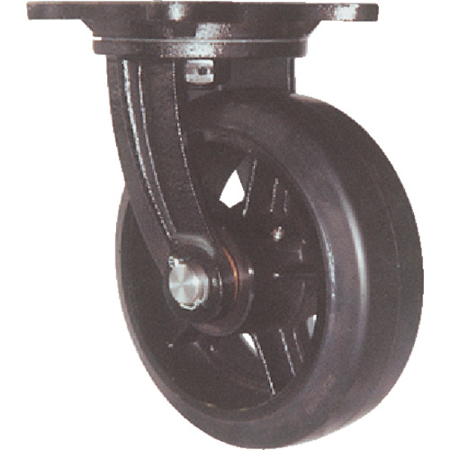 ヨドノ ヨドノ 鋳物重量用キャスター 許容荷重441 取付穴径15mm  MHA-MG200X75