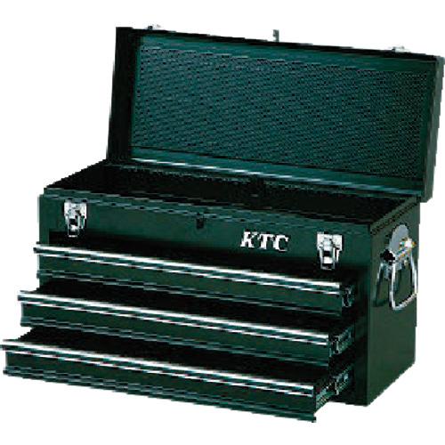 京都機械工具 KTC チェスト(3段3引出し)ソリッドブラック SKX0213BK SKX0213BK