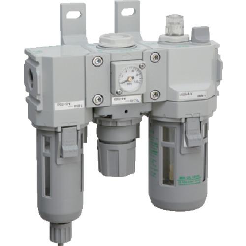 CKD CKD モジュラータイプセレックスFRL 2000シリーズ C2000-8-W C2000-8-W